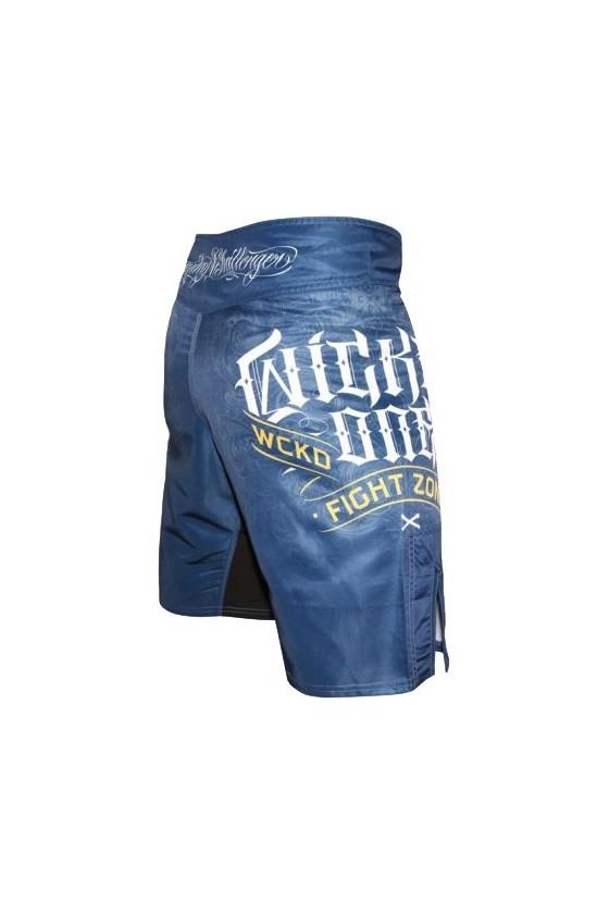 ММА шорти wicked one figh сині