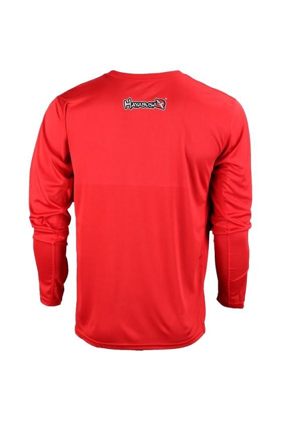 Тренировочная футболка красная
