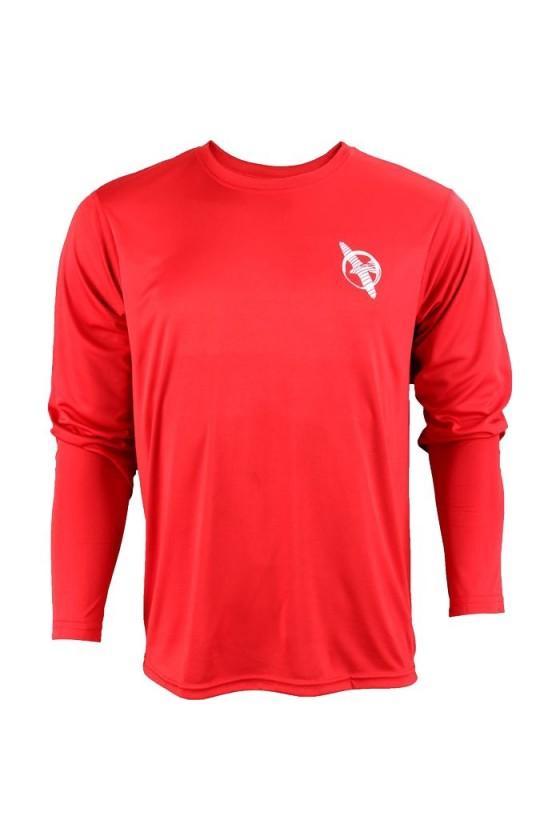 Тренувальна футболка червона