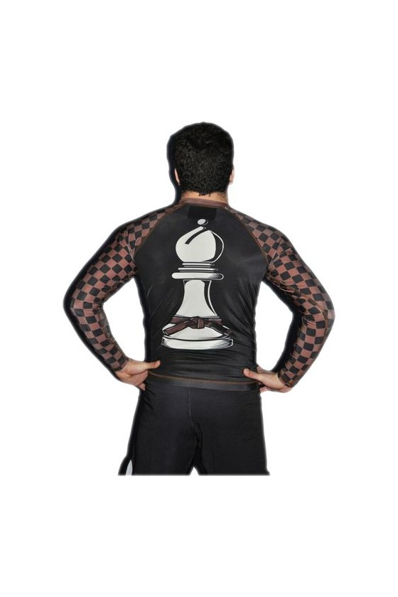 Рашгард mf super chess brown