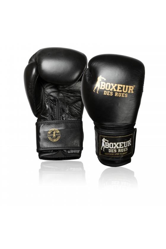 Боксерські рукавички чорні