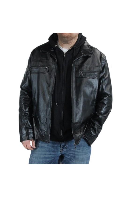 Кожаная куртка headrush