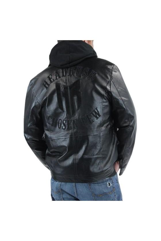 Шкіряна куртка headrush