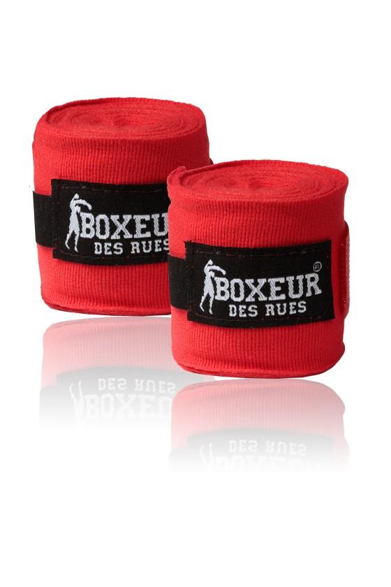 Боксерские бинты красные