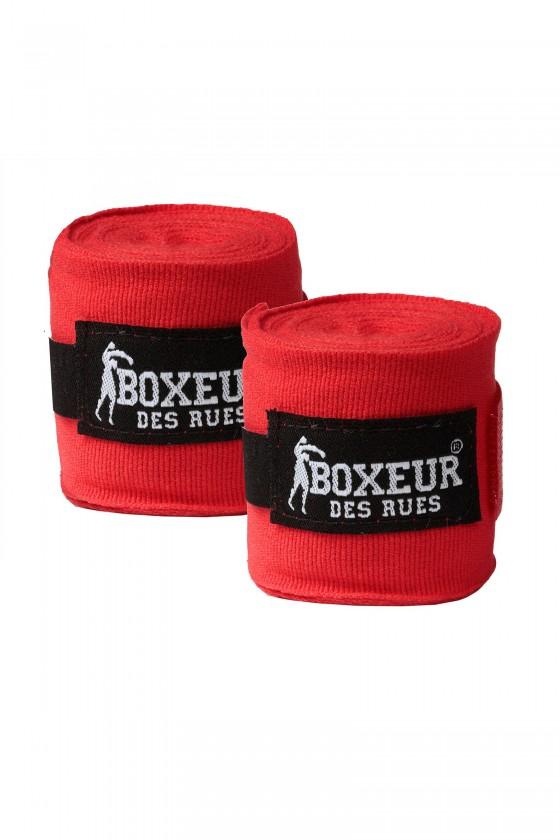 Боксерські бинти червоні
