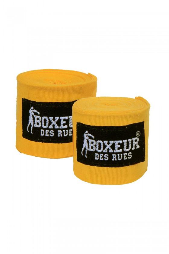 Боксерские бинты желтые