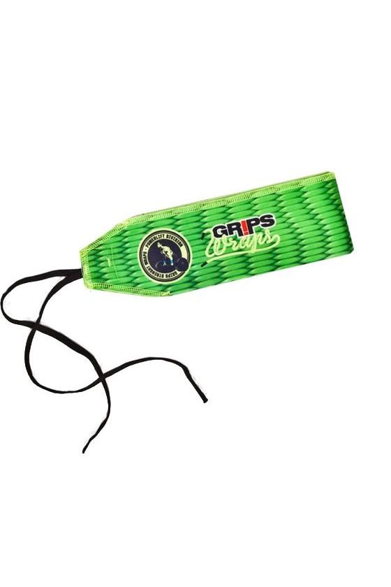 Бинти для зап'ясть Grips Green Gecko