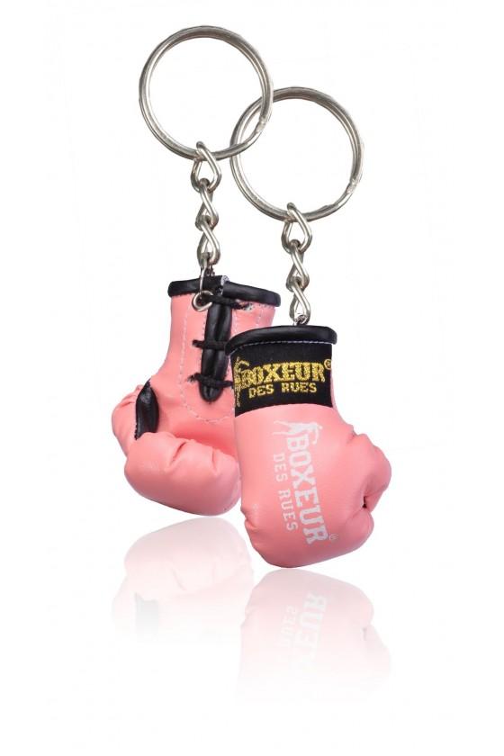 Брелок боксерські рукавички рожеві