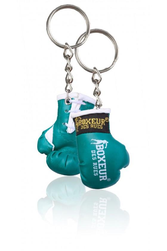 Брелок боксерські рукавички зелені