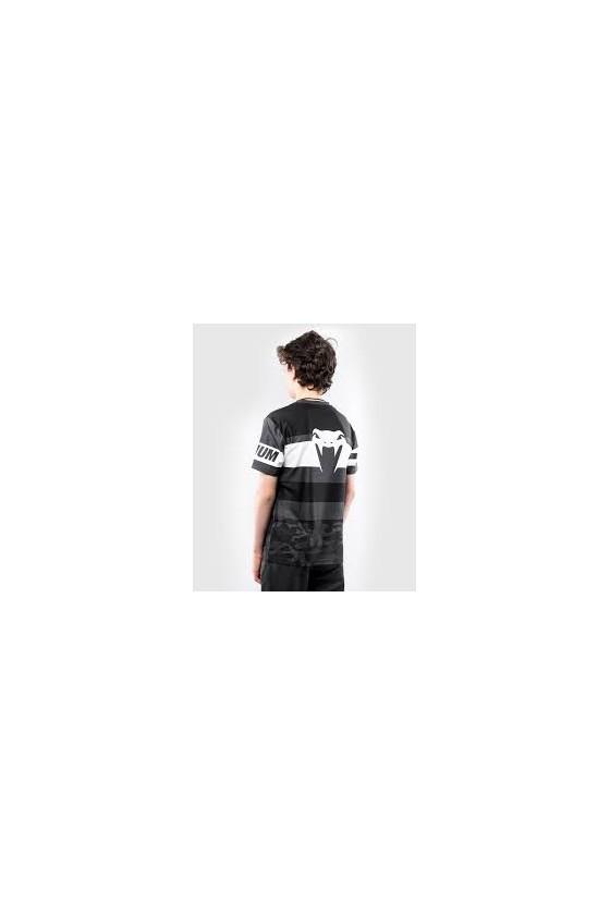 Детская футболка Venum Dry Tech Bandit Black/Grey