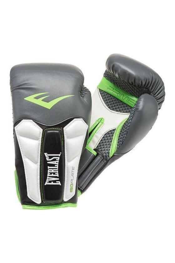 Боксерські рукавички Everlast Prime Grey / Green