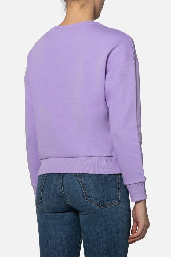 Женский свитшот с круглым воротом Lilac