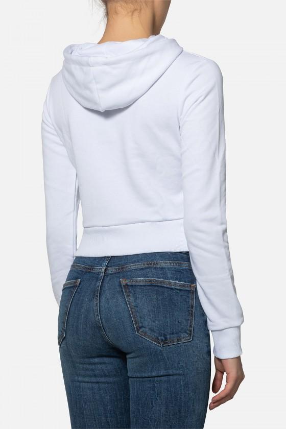 Женская худи с логотипом White