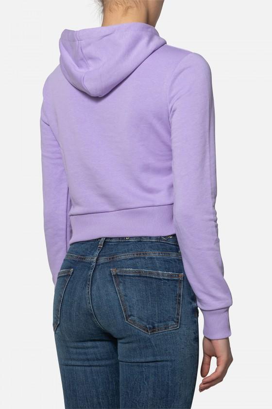 Женская худи с логотипом Lilac