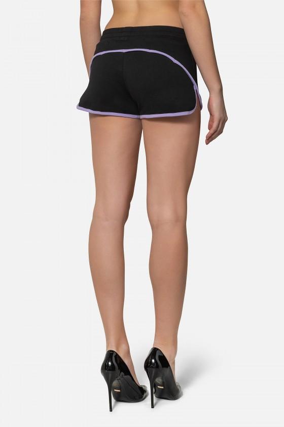 Женские шорты Basic с логотипом Black
