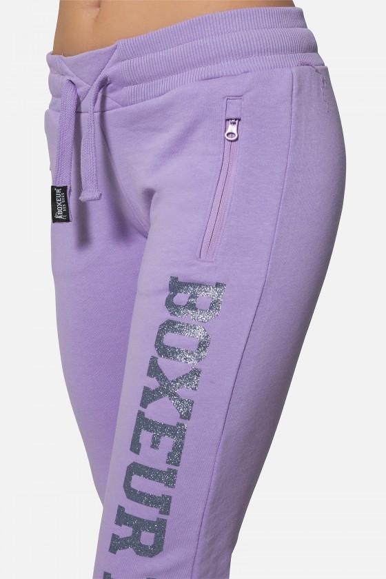 Женские  штаны Basic с логотипом Lilac