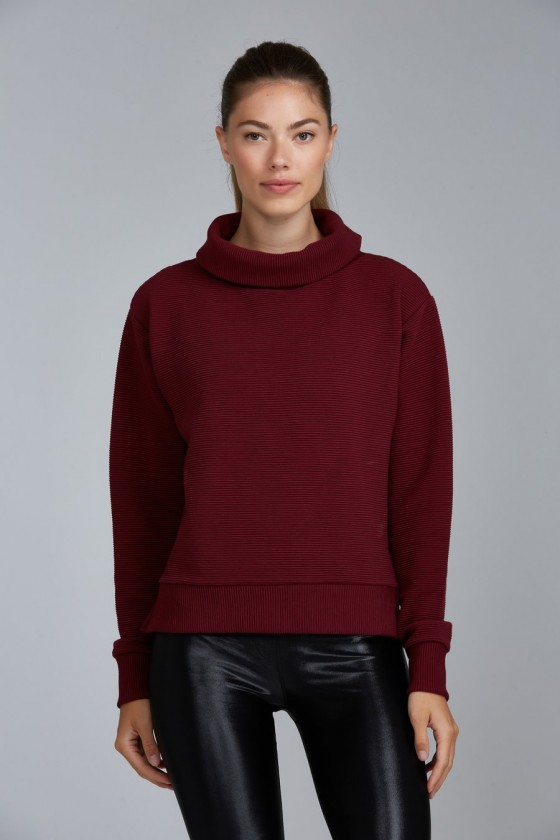 Жіночий светер Noto Burgundy