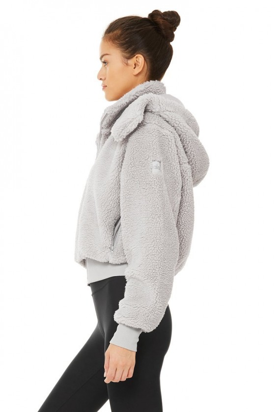 Жіноча куртка Foxy Sherpa Dove Grey