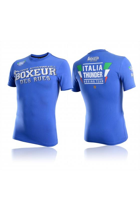 Мужская футболка гроза боксерской команды синяя