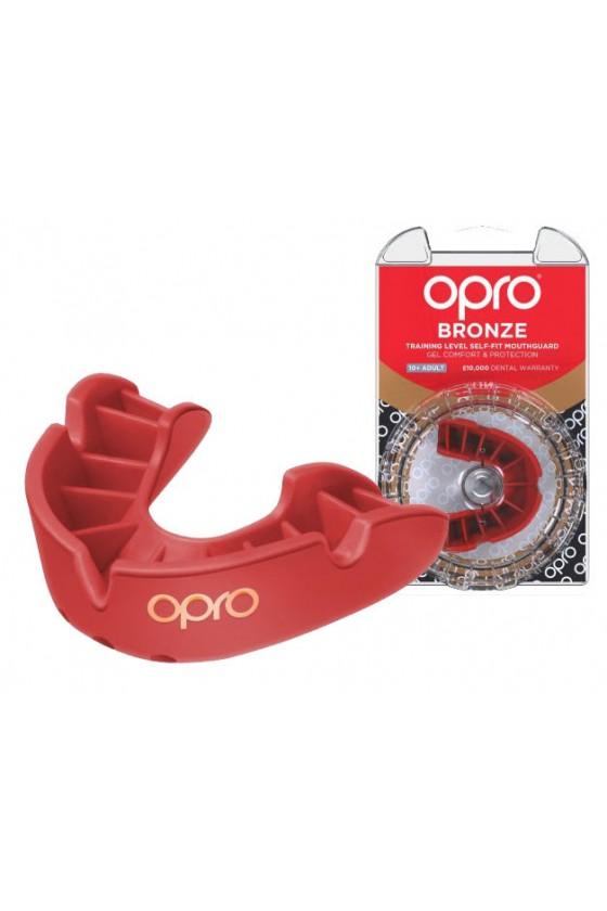 Капа OPRO Bronze Red