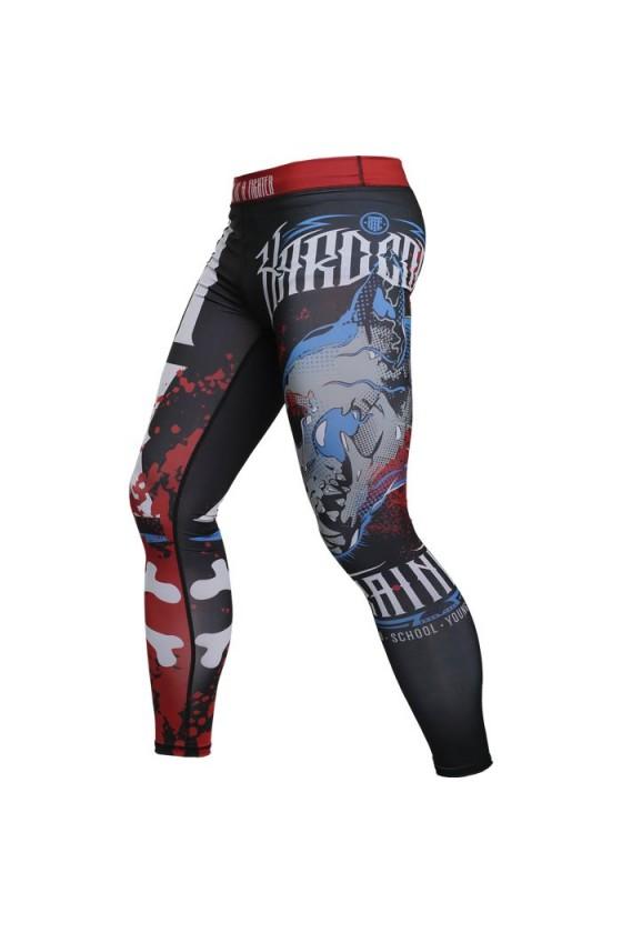 Компрессионные штаны...