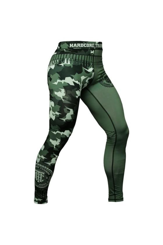 Компресійні штани Hardcore Training Arctic Camo
