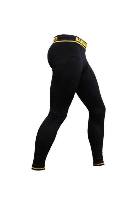 Компрессионные штаны Hardcore Training Black Edition