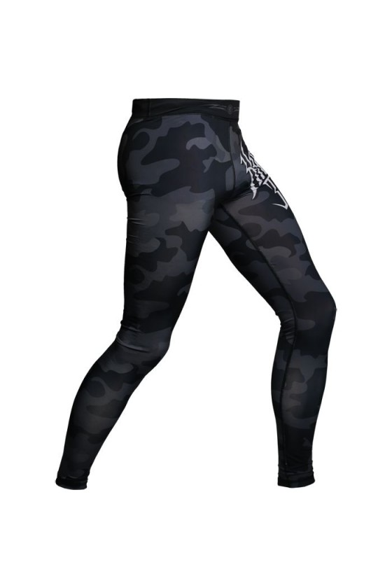 Компресійні штаны Hardcore Training Night Camo