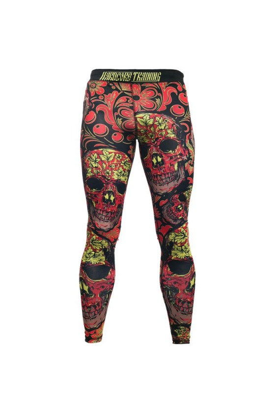 Компресійні штани Hardcore Training Skull Folk