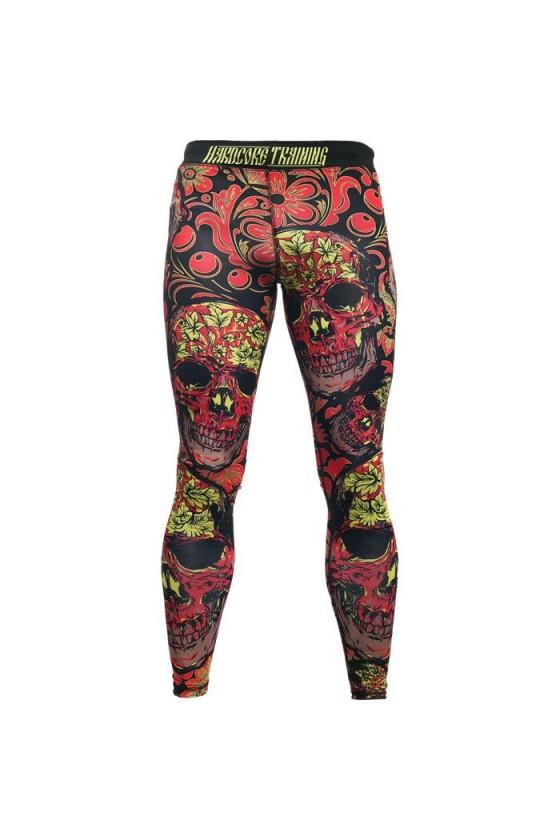 Компрессионные штаны Hardcore Training Skull Folk