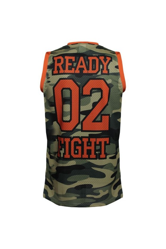 Спортивна майка Jitsu Ready 02 Fight Jersey Camo green