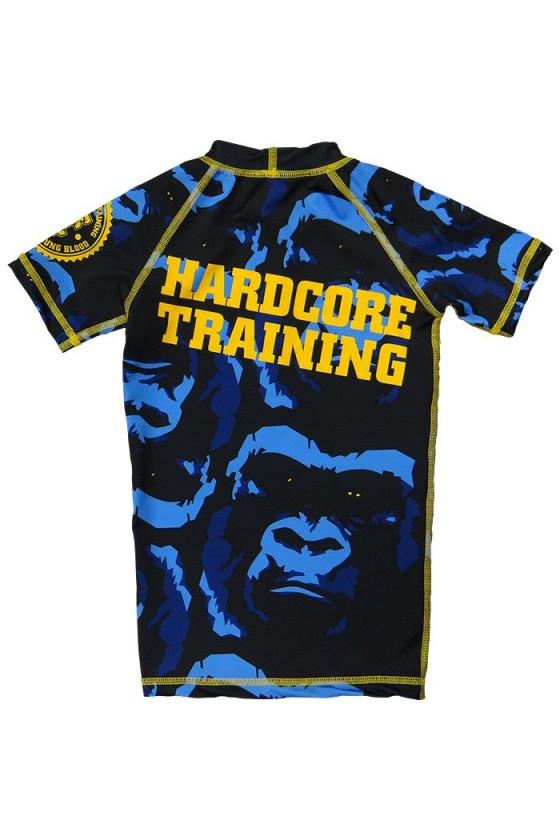 Дитячий рашгард з коротким рукавом Hardcore Training Gorilla