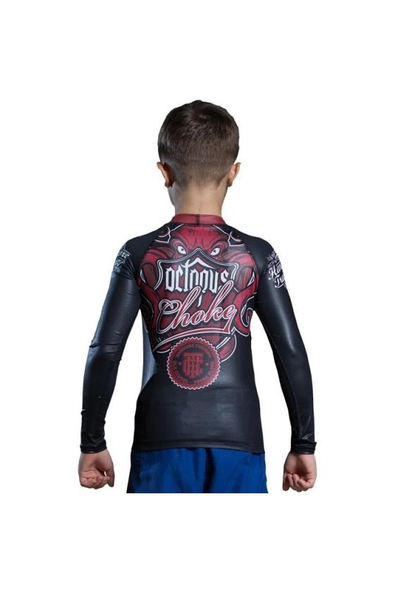 Детский рашгард Hardcore Training Octopus