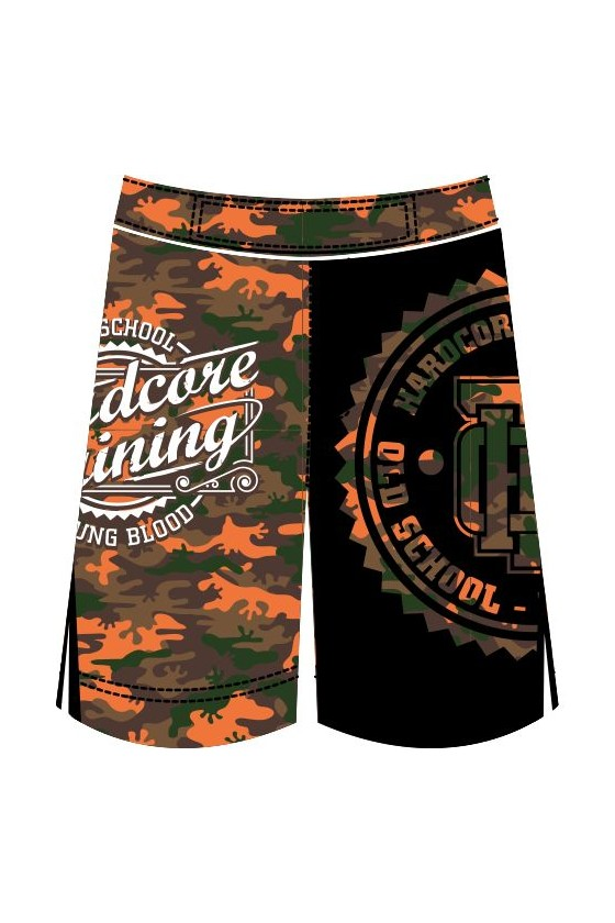 Дитячі шорти MMA Hardcore Training Camo