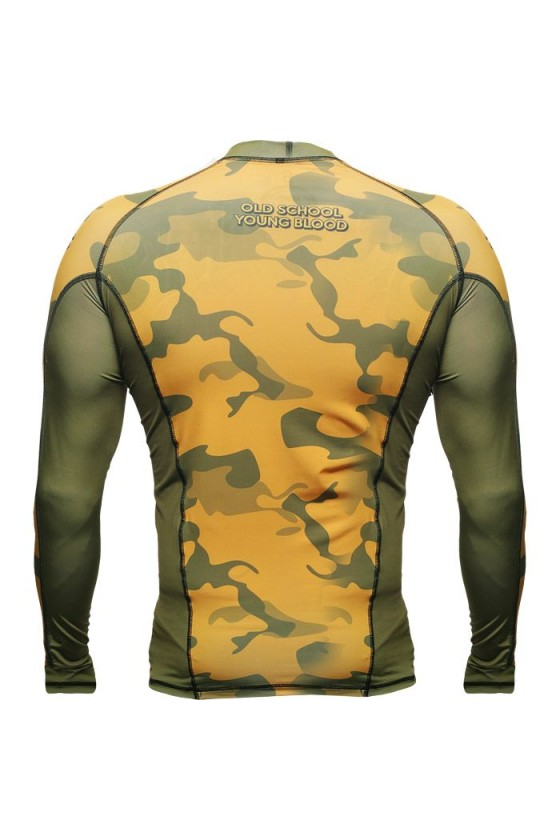 Рашгард Hardcore Training Yellow Camo