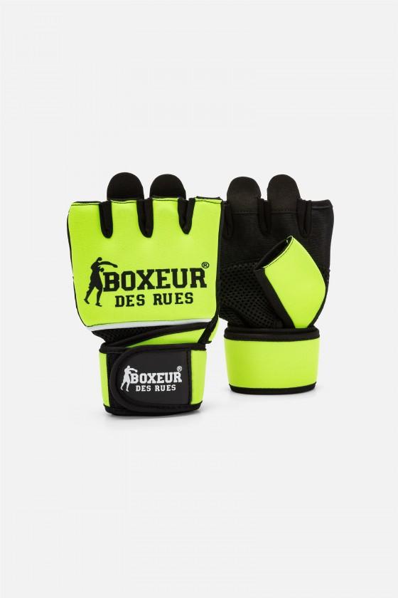 Перчатки для фитнеса желтые
