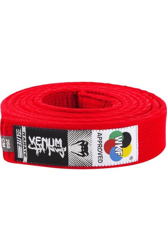 Пояс для кімоно Venum Red