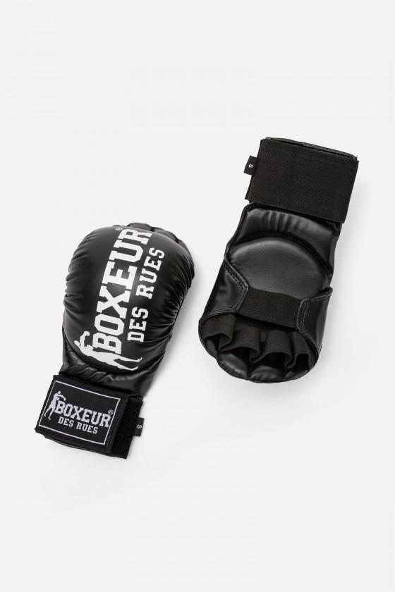 Перчатки для карате и фитбоксинга черные