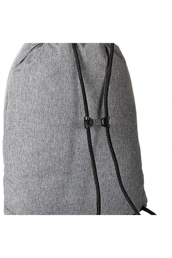 Спортивная сумка- мешок серая