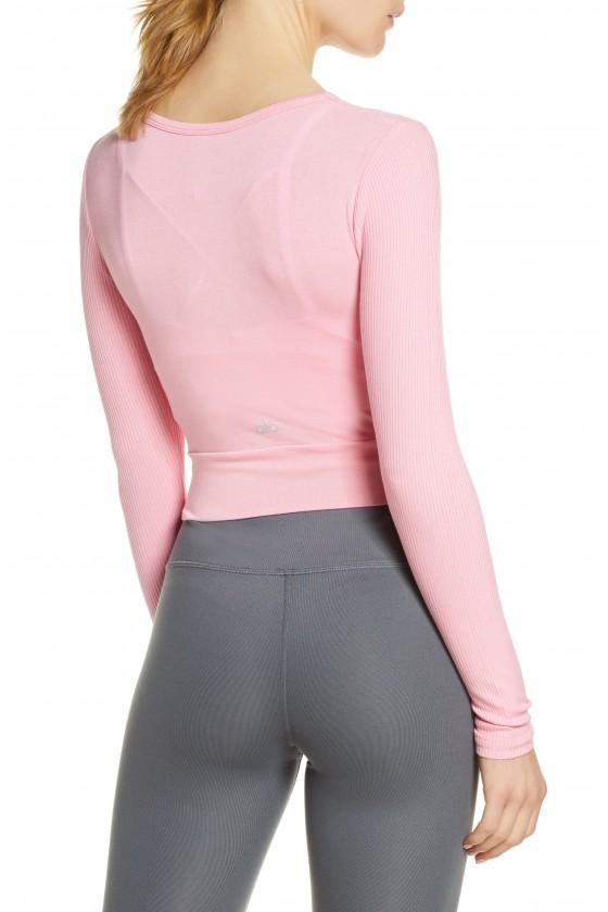 Лонгслів Cover Top Macaron Pink
