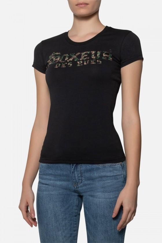 Жіноча футболка зі стразами...
