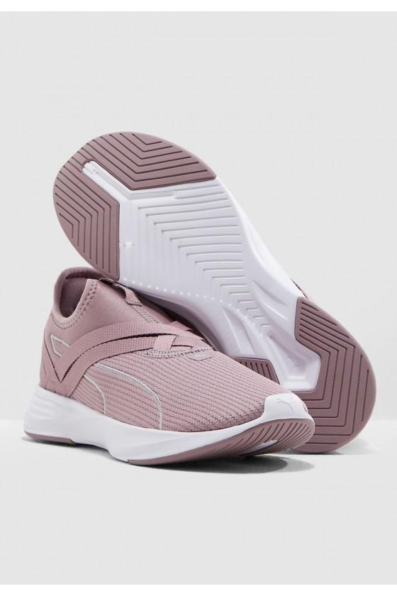 Жіночі кросівки puma RADIATE XT SLIP-ON бузкові