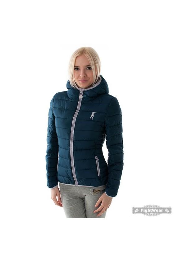 Жіноча куртка темно-синя