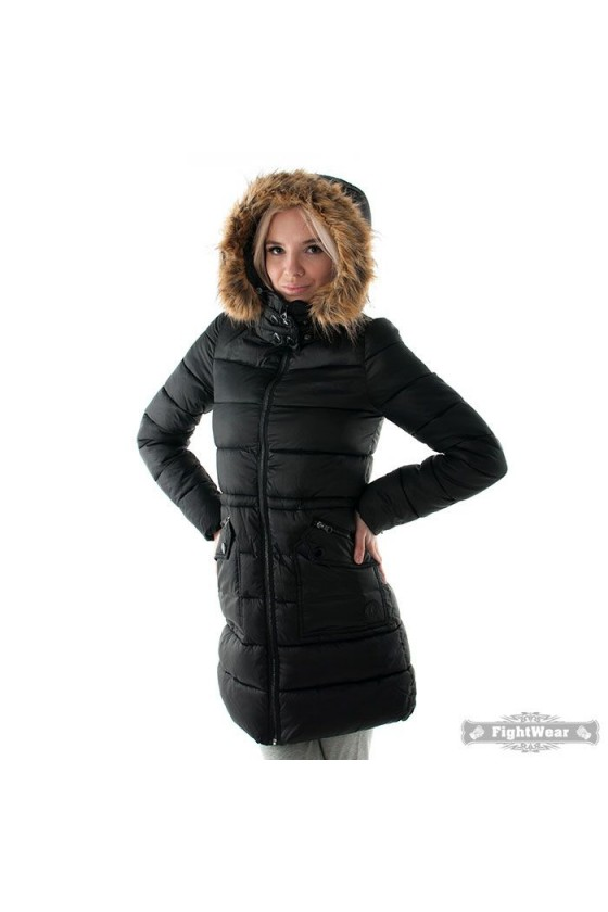 Жіноче пальто чорне