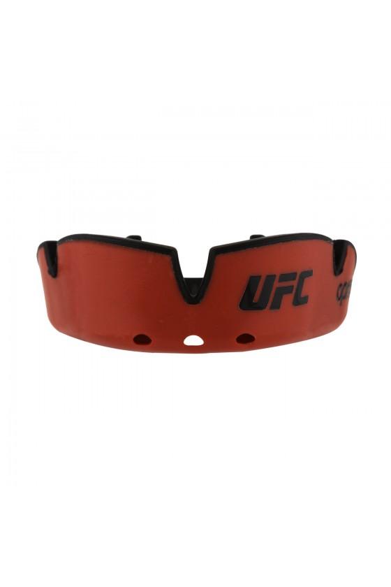 Капа OPRO Junior Silver UFC Hologram Red / Black