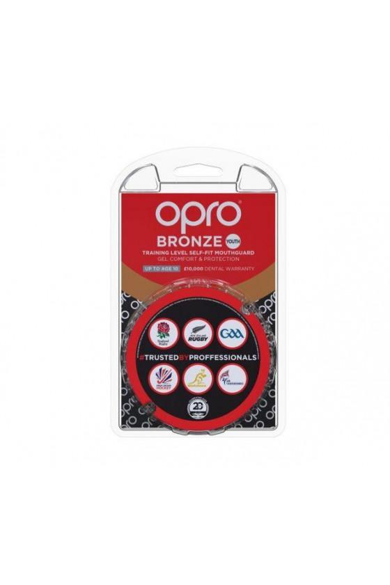 Капа OPRO Junior Bronze Black
