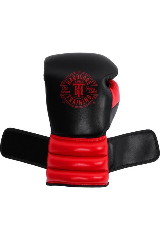 Боксерские перчатки Hardcore Training GRT1 Boxing Gloves Black/Red