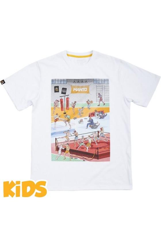 Детская футболка Manto Gym