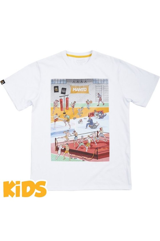 Дитяча футболка Manto Gym