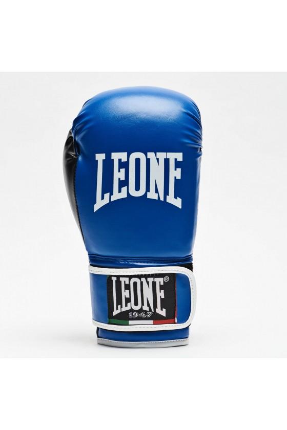 Боксерские перчатки Leone Flash синие
